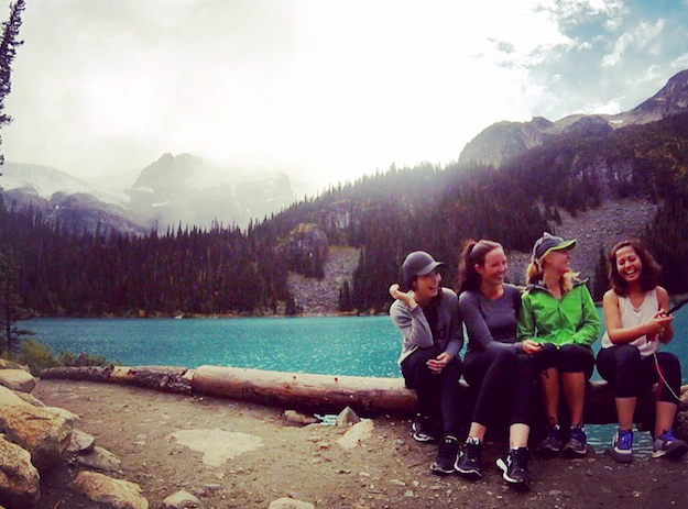 Travel nurses enjoy time off in the wilderness of British Columbia
