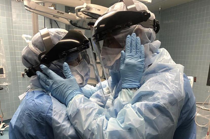 6 Striking Images of Nurses Fighting COVID-19