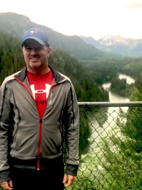 Trevor - dad and travel nurse